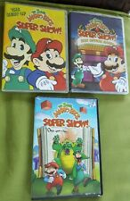 THE BEST OF SUPER MARIO BROS. SUPER SHOW! DVD Plus (2) Other DVDs all with cases