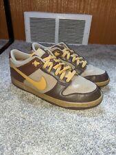 """Nike 2008 SB Dunk  6.0 """"Dark Brown Tan"""" Men's Size 10"""