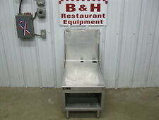 Perlick Es24 Stainless Steel Blender Equipment Stand Table 18 X 27 34