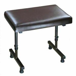 Aidapt Beaumont Leg Rest Without Castors - Brown -few scratches