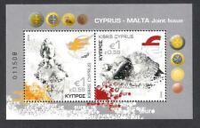 2008 CYPRUS MALTA  JOINT ISSUE MINIATURE SHEET MNH  APHRODITE EURO