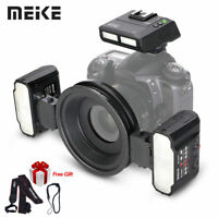 Meike MT24N Macro Twin Lite Flash for Nikon D2X D3 D3X D800 Digital SLR Cameras