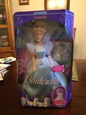 WALT DISNEY CINDERELLA COLLECTIBLE WEDDING GOWN MATTEL BARBIE DOLL GOLDEN BOOK