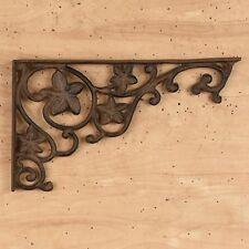 CAST IRON- Ivy Brace / Shelf Bracket Set Of 2