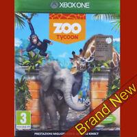 ZOO TYCOON - Microsoft Xbox ONE ~3+ Brand New & Sealed!
