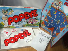 1983 POPEYE BOARD GAME 100% COMPLETE PARKER BROTHERS FAMILY PARTY FUN 4 ALL