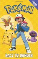 The Official Pokemon Fiction: Race to Danger: Story Book by Pokemon (NEW)