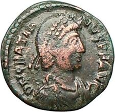 Gratian 378AD Ancient Roman Coin Wreath Possibly Unpublished i27980