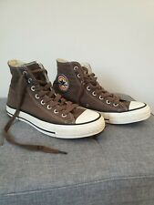 Converse Chuck Taylor All Star Hi-Top Unisex Trainers - Brown. Men size 7 WO's 9