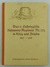 #e8439 Buch: Das 9. lothringische Infanterie-Regiment Nr. 173 Teil 1