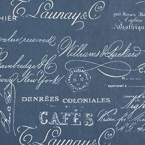 FRENCH CAFE Fabric curtain Upholstery material For Sale 2.6m Piece 100%cotton