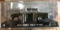 "DIE CAST "" ALFA ROMEO GIULIA TI 1967 "" SCALA 1/43 CARABINIERI"