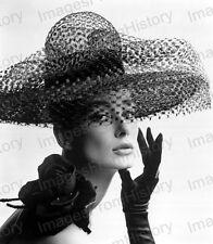 8x10 Print Historic Fashion Photography Model Tania Mallett 1963 #TM01