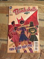 DC Comics Bombshells #7 Batgirl, Batwoman, Zatanna High Grade [DC Comics]