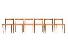 6 x Teak Stühle von H. W. Klein für Bramin Dining Chairs danish vintage 60s 60er
