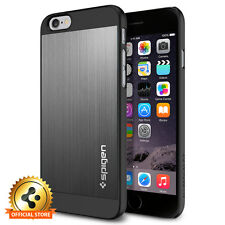 [Spigen Outlet] Apple iPhone 6 / 6S [Aluminum Fit] Space Gray Light Weight Case
