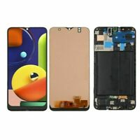 For Samsung Galaxy A50 2019 A505 A505F LCD Display Touch Screen Digitizer ±Frame