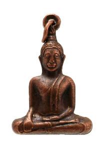 A Sospensione Amuleto Budda Buddismo Gioiello Portafortuna Amuleto D70 465