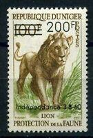 Niger MiNr. 16 postfrisch MNH Löwe (D083