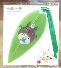 Totoro Leaf Bookmark Small, Japanese Animation, Miyazaki