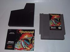 CYBERNOID BY ACCLAIM FOR NINTENDO NES CARTRIDGE & MANUAL TESTED