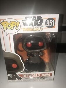OFFWORLD JAWA FUNKO POP STAR WARS THE MANDALORIAN #351