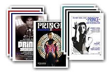 PRINCE - 10 promotionnel affiches - de collection lot carte postale # 2