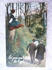 Postcard- Let your Ambition be High