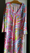Lilly Pulitzer Christie V Neck Tee Shirt Dress Scuba to Cuba Size XS 05028