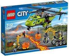 LEGO CITY VOLCÁN HELICÓPTERO DE SUMINISTROS SET 60123 NUEVO PRECINTADO SIN ABRIR