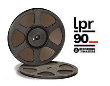 "LPR90 RTM PYRAL RMG RMGI TAPE REEL TO REEL 1/4"" X 3600 10.5"" PLASTIC TRIDENT NEW"
