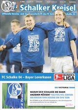 Schalker Kreisel + 30.04.2005 + FC Schalke 04 vs. Bayer Leverkusen + Programm +
