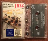 Walkman Jazz Best Of The Big Bands (Cassette, 1987) Benny Goodman Duke Ellington