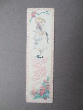BOOKMARK Jan Hagara Mandy Victorian Child with Doll Gallery Edition Antioch