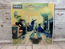 Oasis Definitely Maybe Album Cover Gallagher Brothers Liam Music Canvas Picture