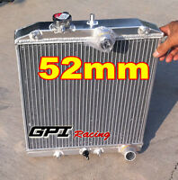 3 ROW for 1992-2000 ALUMINUM RADIATOR Honda Civic EK EG D15 D16 28MM PIPE