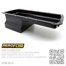 AEROFLOW 5.5L HIGH VOLUME SUMP GM V8 GEN IV LS2 & LS3 [HOLDEN HQ-HJ-HX-HZ-WB]