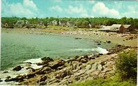 Vintage Postcard - View Perkins Cover From Lookout Ogunquit Maine ME #4586