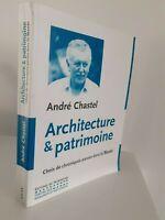 Andre Chastel Architecture&patrimoine Ediciones de La Heritage 1985 Tbe