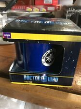New Doctor Who TARDIS Sign Mug St John's Ambulance Coffee Cup Tea Official