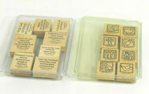 Stampin Up Bible INSPIRATIONALS ~ Retired Stamp Set  Bible Verses Scripture