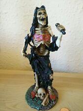 Skeleton Hells Angel rock Band Figurine statue ornament skulls rare 8inch tall