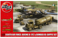 AIRFIX 8TH AIR FORCE BOEING B.17G & RE-SUPPLY SET SET NEW MINT & SEALED 1/72