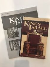King's Of Israel Text And Quiz/Test Key Abeka Book Grade 9 Third Edition