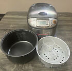 Zojirushi Electric Micom Rice Cooker Warmer Model NS-TSC10 5.5 Cups Tested Works photo