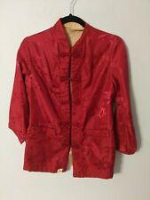 Fortune Fabulous Fashions Vintage Blazer Size S Reversible Exc