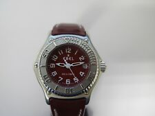 EBEL DISCOVERY LADIES WATCH 29mm RED DIAL