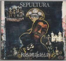 SEPULTURA CD Digipak 1996 Roadrunner RATAMAHATTA with 2 live trax