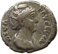 ROME EMPIRE DIVA FAUSTINA DENAR #t126 177