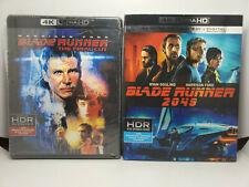 Blade Runner 2049 4K+Blu-ray+Digital Copy+Slip Cover & Blade Runner Final Cut 4K